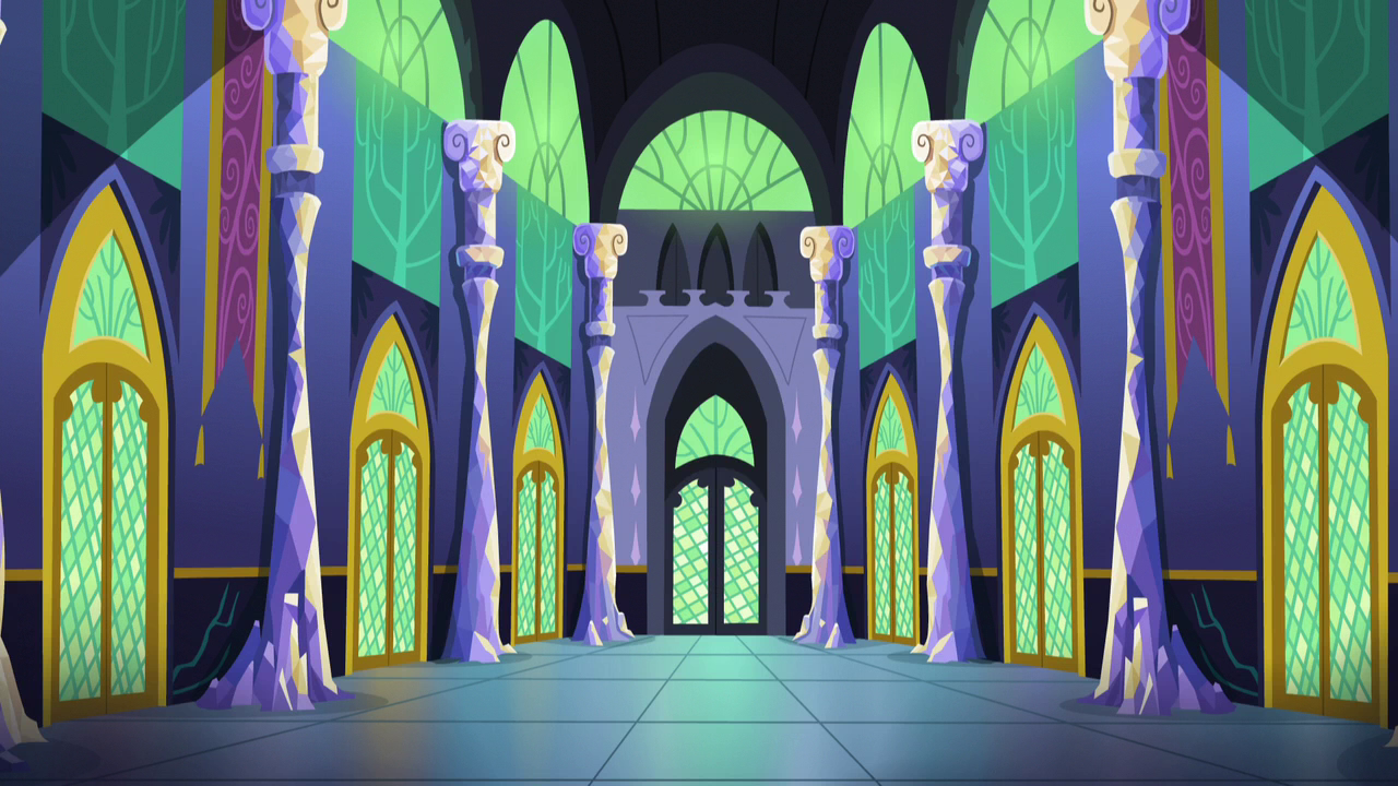 image - twilight's castle interior 3 s5e3 | my little pony