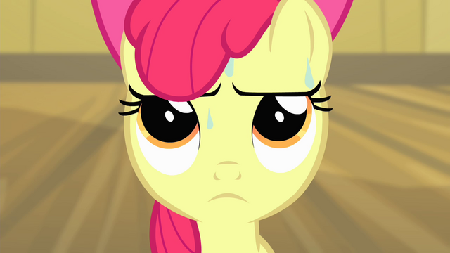File:Apple Bloom with sweat on her face S4E17.png