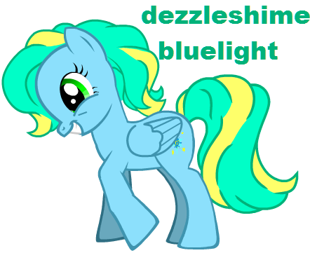 File:FANMADE OC Dezzleshime Bluelight.png