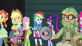 Rainbow Dash interrupts the latest film take EGS2.png