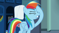 Rainbow Dash looking exasperated S7E7