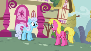 Shoeshine and Cherry Berry talking S3E6.png
