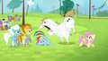 Bulk shouts at Rainbow Dash S4E10.png