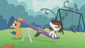Pipsqueak on a seesaw; First Base pushes it S5E18.png