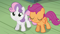 "Sweetie Belle ""she'll know she isn't alone!"" S5E4"