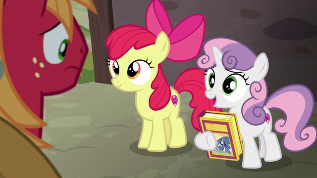 """File:Sweetie Belle """"the knight in shining armor"""" S7E8.png"""