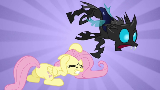 File:Fluttershy attack S02E26.png