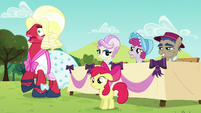 Orchard Blossom shocked S5E17