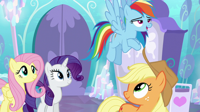 "File:Rainbow Dash ""super-strong flying!"" S6E1.png"