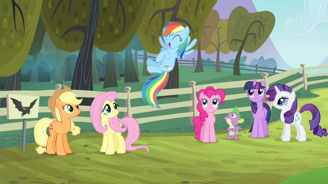 File:Rainbow Dash super excited S4E07.png
