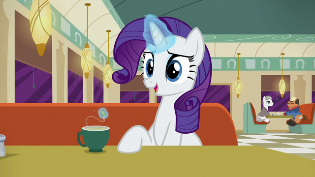 """File:Rarity """"Mr. Stripes owns the building"""" S6E9.png"""