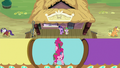 Applejack, Rarity, and Pinkie go their separate ways S6E22.png