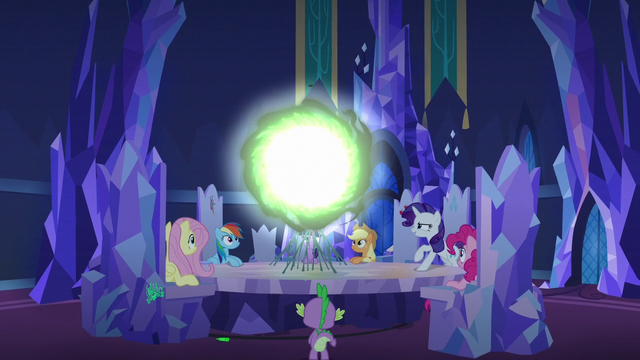 File:Changeling Seven opening a communication window S6E25.png