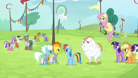 Rainbow 'right before the tryouts' S4E10