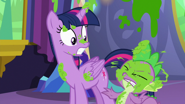 File:Spike gets splattered with more mashed peas S7E3.png