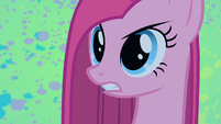 Pinkie Pie looks angry S1E25