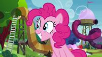 Pinkie Pie squeeing S4E18