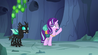 Starlight Glimmer in concerned shock S6E26