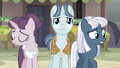 Sugar Belle and Night Glider nervous while Party Favor determined S5E02.png