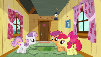 The CMC smiling at each other S6E4