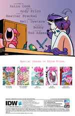 Comic issue 42 credits page