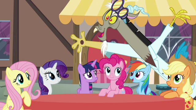 """File:Discord pops on-screen """"excellent!"""" S5E22.png"""