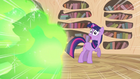 Fire about to hit Twilight S2E20