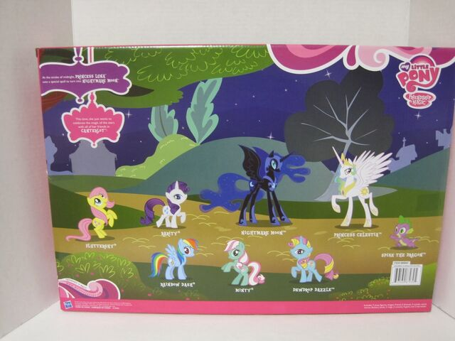 File:Midnight in Canterlot Pony Collection back of packaging.jpg