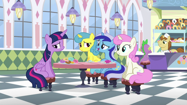 "File:Minuette ""it might've stung a little bit when you ran off to Ponyville"" S5E12.png"
