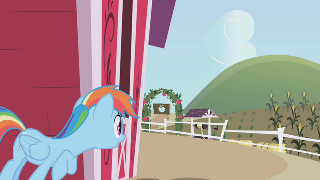 File:Rainbow hides behind the barn S1E05.png