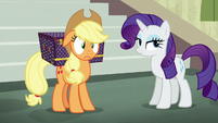 "Applejack ""not at all like back home"" S5E16"
