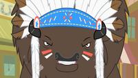 Chief Thunderhooves fumes S01E21