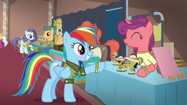 File:Rainbow buying a Daring Do figurine S6E13.png