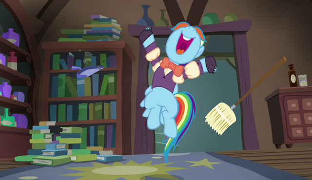 "File:Snowdash shouting ""sweet!"" S6E8.png"