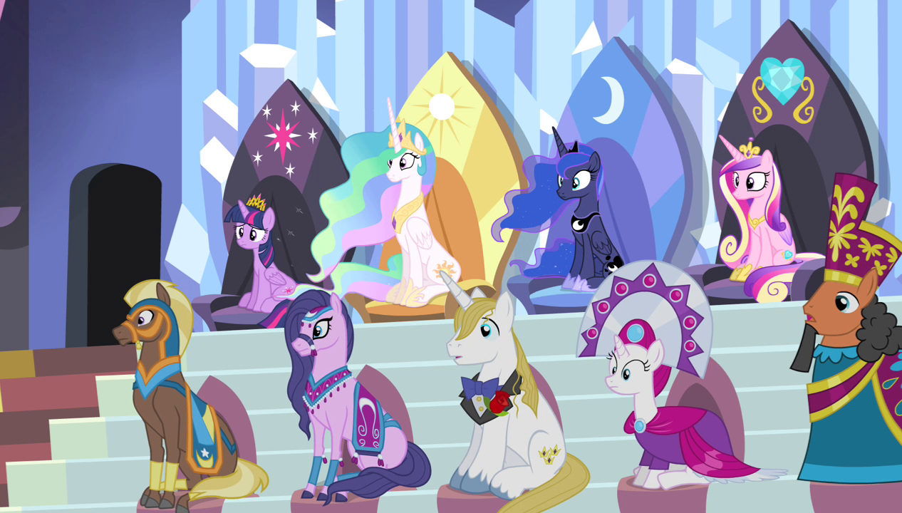 Image - Equestria royalty S4E24.png | My Little Pony Friendship is ...