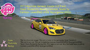 FANMADE MLP Racing team fluttershy's new car
