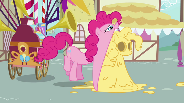 File:Pinkie Pie eating dough replica of herself S2E18.png
