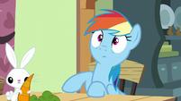 Rainbow and Angel hear Zephyr's voice S6E11