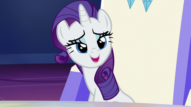 """File:Rarity """"everypony has moved on"""" S6E25.png"""