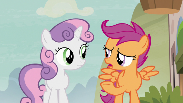 "File:Scootaloo ""what about Cheerilee?"" S7E8.png"