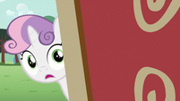 Sweetie Belle looking S2E23