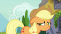 Applejack feeling guilty S7E9.png