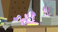 Diamond Tiara on the desk S2E23