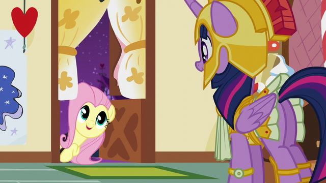 """File:Fluttershy """"I'm excited to see everypony soon!"""" S5E21.png"""