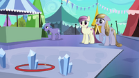 Hoop about to rejuvenate ponies S3E2