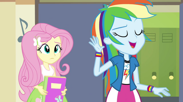 "File:Rainbow Dash ""we'll get to it"" EG2.png"