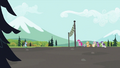 Tank with Rainbow making their way towards finish line S2E07.png