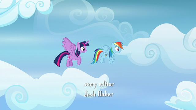 File:Twilight and Rainbow Dash flying together S6E24.png