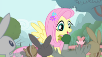 Fluttershy 'thank you so much' S4E14
