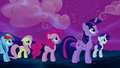 Mane Six observing the Tantabus S5E13.png